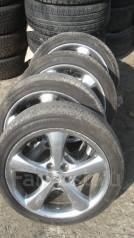 Комплект колес Mark X лето 225/45R18 Yokohama. 8.0x18 5x114.30 ET50