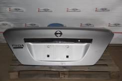 Крышка багажника. Nissan Tiida Latio, SNC11, SZC11, SJC11, SC11 Двигатели: MR18DE, HR15DE, HR16DE