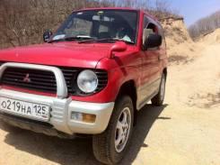 Mitsubishi Pajero Mini. автомат, 4wd, 0.7 (52 л.с.), бензин