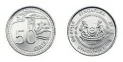 50 центов Сингапур 2015г