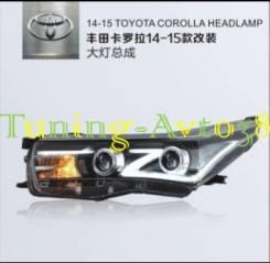 Фары передние тюнинг Toyota Corolla NRE18# 2013-