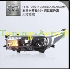 Фары передние тюнинг Toyota Corolla 2013-