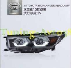 Фары передние тюнинг Toyota Highlander ACU5# 2014-