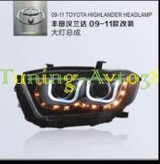 Фары передние тюнинг Toyota Highlander GSU4# 2012-2013