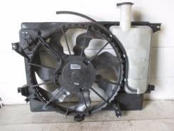 Вентилятор охлаждения радиатора. Kia cee'd Kia Rio Двигатель G4FA
