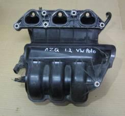 Коллектор впускной. Volkswagen Polo Двигатель AZQ
