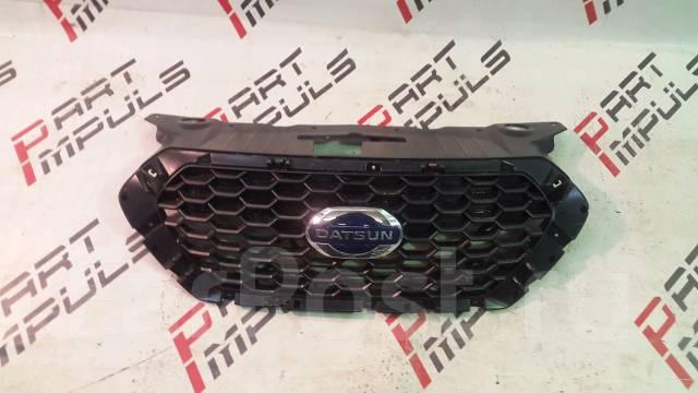 Решетка радиатора. Datsun mi-Do Двигатель BAZ11186