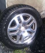 215/60/R16, зимние шипованные шины, 6.5x16, 5/100, ET 48, литые диски. 6.5x16 ET48