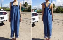 Комбинезоны джинсовые. 42, 44, 40-44, 40-48, 46. Под заказ