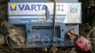 Varta. 60А.ч., Обратная (левое), производство Япония