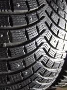 Michelin Latitude X-Ice North 2. Зимние, шипованные, 2012 год, износ: 10%, 4 шт