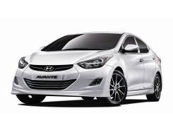 Молдинг ПТФ и рефлекторов Hyundai Elantra/Avante MD. Hyundai Avante Hyundai Elantra, MD