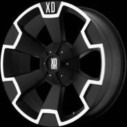 XD Series. 9.0x18, 5x139.70, 5x150.00, ET35, ЦО 110,0мм.
