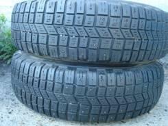 Michelin 4X4 A/T. Зимние, шипованные, износ: 30%, 2 шт