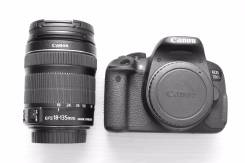 Canon EOS 700D Kit. 15 - 19.9 Мп, зум: 7х