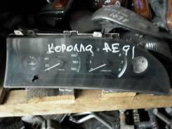 Панель приборов. Toyota Corolla, AE91 Двигатели: 4AFE, 5AF, 5AFE