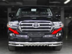 Решетка бамперная. Toyota Land Cruiser. Под заказ
