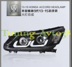Фары передние тюнинг Honda Accord CR# 2013-