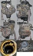 Двигатель в сборе. Mitsubishi Minica, H14V Двигатель 3G81