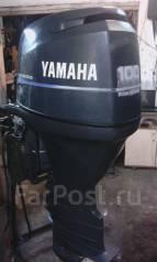 Yamaha. 100,00л.с., 4х тактный, бензин, нога X (635 мм), Год: 2001 год
