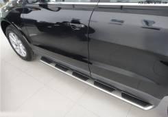 Порог пластиковый. Audi Q7