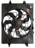 ST-HY22-201-0 SAT Диффузор радиатора в сборе HYUNDAI SONATA 2.0/2.4 10-/GRANDEUR / AZERA 11-/KIA OPTIMA 2.0/2.4 10-