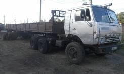 Камаз 5410. с полуприцепом ОдАЗ 9370, 2 200 куб. см., 2 000 кг.