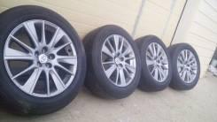 Комплект оригинальных колес от Toyota Highlander 2го поколения. 7.5x19 5x114.30 ET30 ЦО 60,1мм.