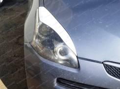 Накладка на фару. Toyota Ractis, NCP100, NCP105, SCP100