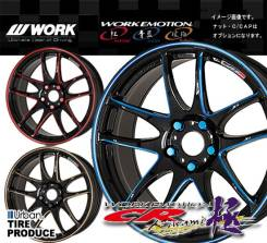 Work Emotion CR Kiwami. 7.0x17, 5x114.30, ET50, ЦО 73,0 мм.