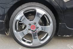 Продам комплект разношироких колес WORK LS305 R19. 8.5/9.5x19 5x114.30 ET35/38 ЦО 73,6мм.