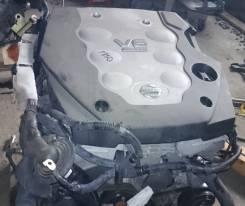 Двигатель. Nissan Stagea, PM35 Nissan Infiniti M35/45 Nissan Fuga, PY50 Nissan Skyline, CPV35, PV35 Двигатель VQ35DE