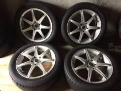 Продам Колеса R17 7J +40+лето Bridgestone 215/55/17 2011 г. 7.0x17 5x114.30 ET40 ЦО 73,0мм.