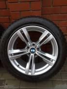 Диски BMW M Double-Spoke 467с зимней и летней резиной. 10.0/9.0x19 5x120.00 ET21/37 ЦО 74,1мм.