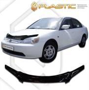 Дефлектор капота CA (мухобойка) Honda Civic седан 2001-2003 2010010101886