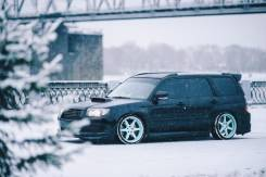 Накладка на порог. Subaru Forester, SG5, SG9. Под заказ
