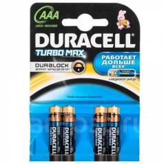 Батарейка Duracell Turbo LR03 (AAA) щелочная (alkaline)