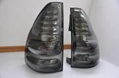Защита стоп-сигналов. Toyota Land Cruiser Prado, TRJ125, TRJ12, RZJ120, LJ125, KDJ125, GRJ120, TRJ120W, KZJ120, KDJ121, RZJ125, VZJ120, RZJ120W, KDJ12...