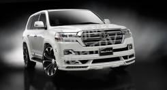 Обвес кузова аэродинамический. Toyota Land Cruiser, GRJ200, URJ200, URJ202, URJ202W, UZJ200, UZJ200W, VDJ200