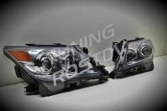 """Фары с """"бегающим"""" поворотником Lexus LX570 Рестайлинг"""