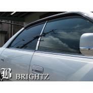 Хромированные боковые стойки Brightz Jzx100 Chaser , mark2. Toyota Chaser, JZX100