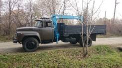 ЗИЛ 130. Продам бортовой грузовик Зил 130-Б2 с крановой установкой Todano Z-254, 6 000 куб. см., 6 000 кг.