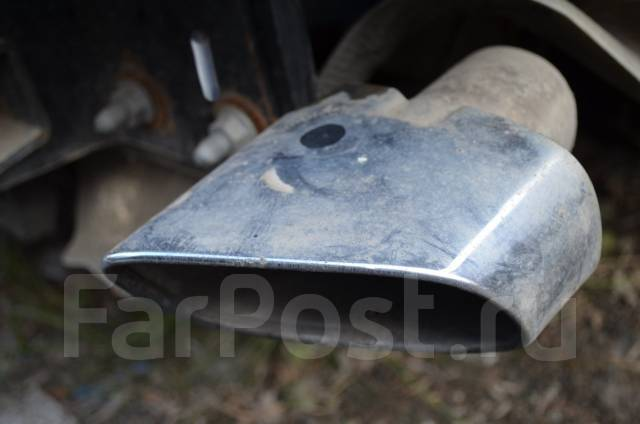Насадка на глушитель. BMW X5, E70