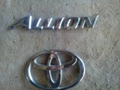 Эмблема. Toyota Allion