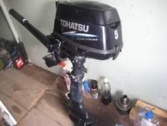 Tohatsu. 5,00л.с., 4х тактный, бензин, нога S (381 мм), Год: 2012 год