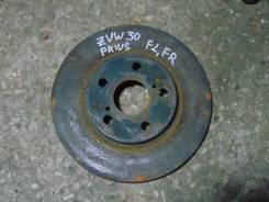 Диск тормозной. Toyota Prius, ZVW30 Двигатель 2ZRFXE
