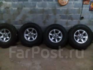 Комплект колес 285 / 75 R 16. 7.0x16 6x139.70 ET25 ЦО 110,0мм.