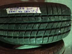 Pirelli Winter SnowSport. Зимние, без шипов, 2013 год, износ: 10%, 2 шт