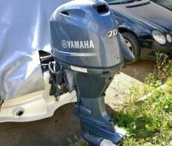 Yamaha. 70,00л.с., 4х тактный, бензин, нога L (508 мм), Год: 2015 год