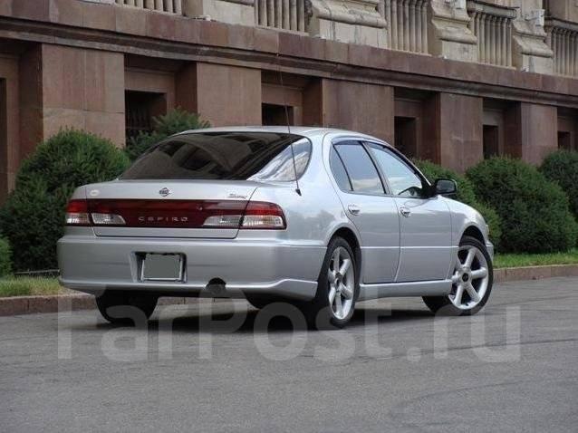 Обвес кузова аэродинамический. Nissan Cefiro, A32